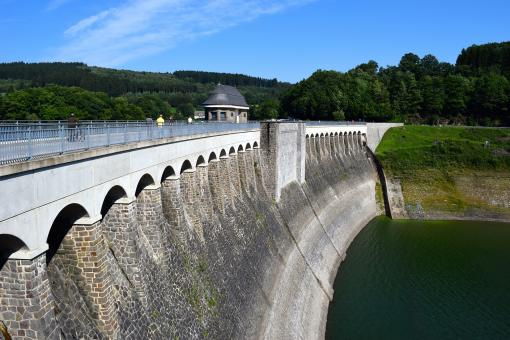 Free Stock Photo of Water Control Dam