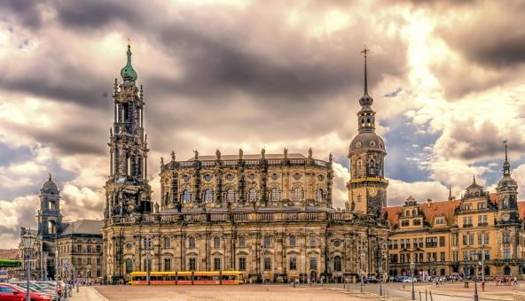 Free Stock Photo of Dresden City