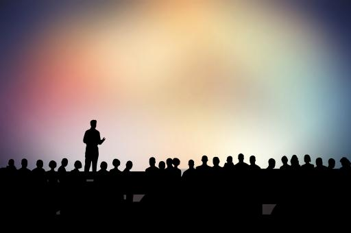 Free Stock Photo of Speaker and Speech - Speaking in Public - Presentation - Conference