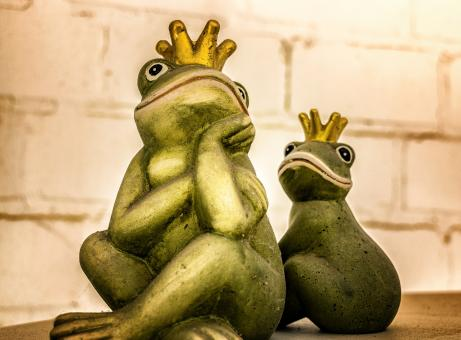 Free Stock Photo of Decoration Frogs