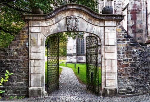 Free Stock Photo of Entrance Gate