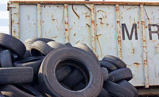 Free Stock Photo of Old Tyres