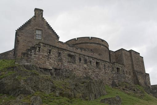 Free Stock Photo of Edinburgh Castle