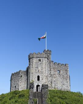 Free Stock Photo of Cardiff Castle
