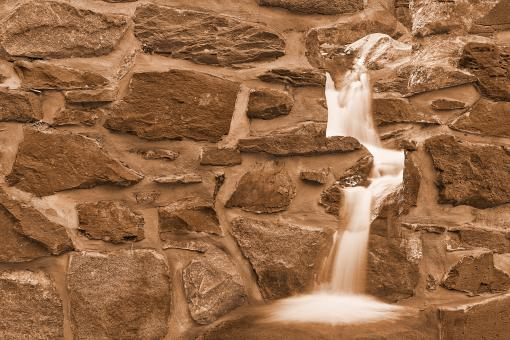 Free Stock Photo of Jarboes Wall Waterfall