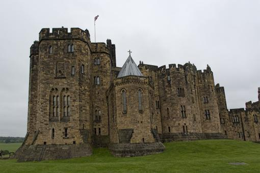 Free Stock Photo of Alnwick Castle