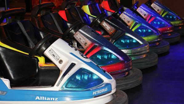 Free Stock Photo of Bumper Cars