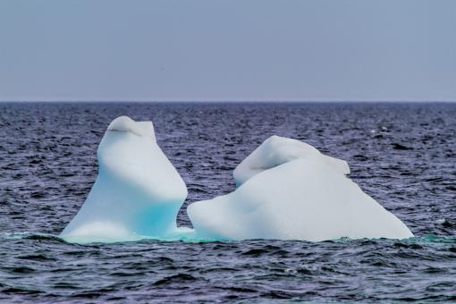 Free Stock Photo of Melting Iceberg in the Atlantic Ocean