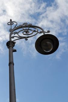 Free Stock Photo of Ornate Street Lamp