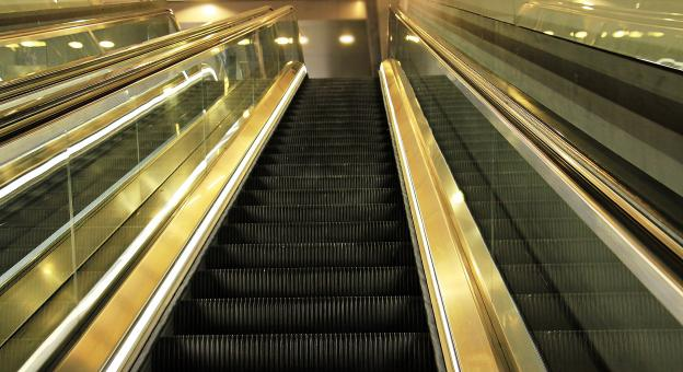 Free Stock Photo of Electronic Escalator