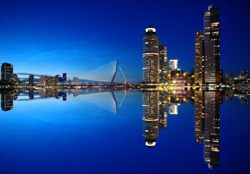 Free Stock Photo of Rotterdam City