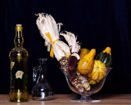 Free Stock Photo of Gourds and bottles