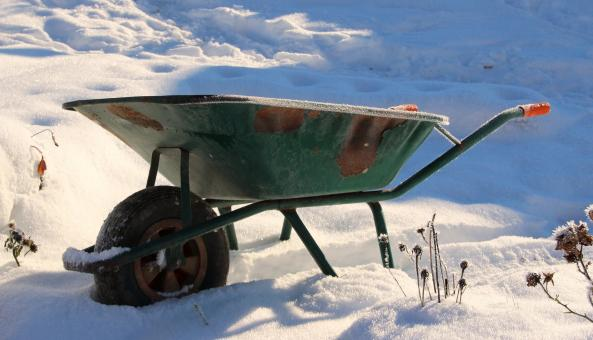 Free Stock Photo of Wheel Barrow