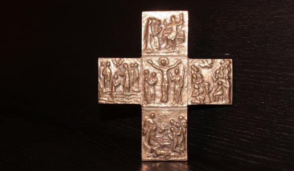 Free Stock Photo of Carved Cross