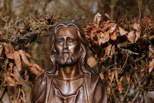 Free Stock Photo of Jesus Sculpture