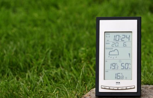 Free Stock Photo of Weather Station