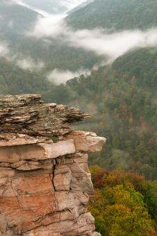 Free Stock Photo of Stone Sentinel of Lindy Point - HDR