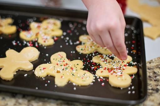 Free Stock Photo of Christmas Cookies