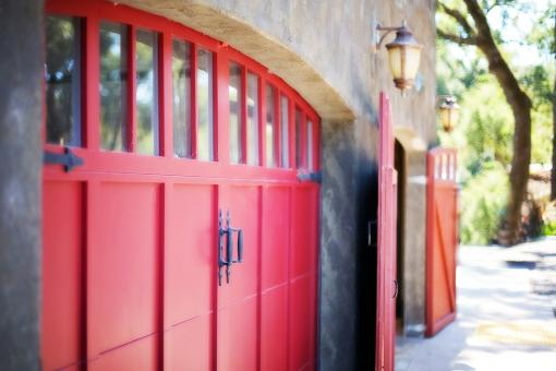 Free Stock Photo of Garage Door
