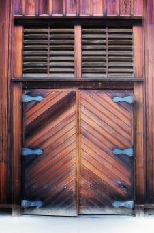 Free Stock Photo of Wooden Door