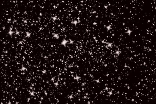 Free Stock Photo of Snow Flakes as Stars