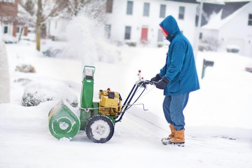 Free Stock Photo of Snow Blower