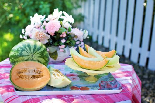 Free Stock Photo of Fresh Melons