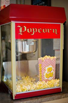 Free Stock Photo of Popcorn Machine