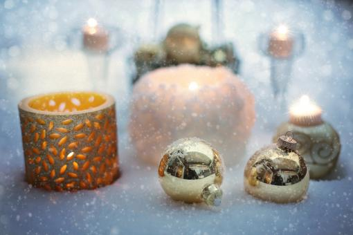 Free Stock Photo of Christmas Bauble
