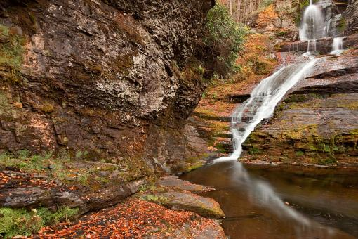 Free Stock Photo of Dingmans Autumn Falls