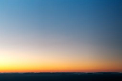 Free Stock Photo of Shenandoah Twilight Minimalism - HDR