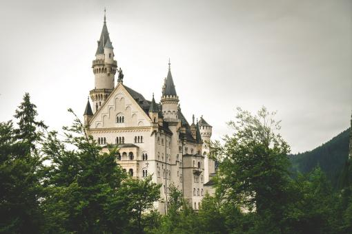 Free Stock Photo of Old Magnificent Castle