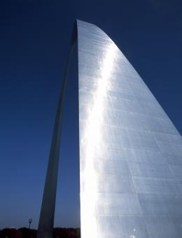 Free Stock Photo of St Louis Arch