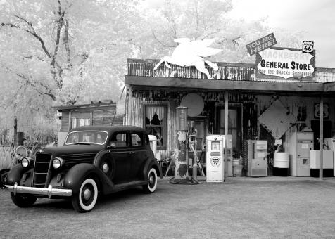 Free Stock Photo of Hackberry General Store