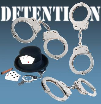 Free Stock Photo of Detention Handcuffs