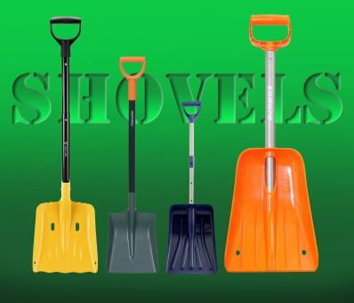 Free Stock Photo of Different Shovels