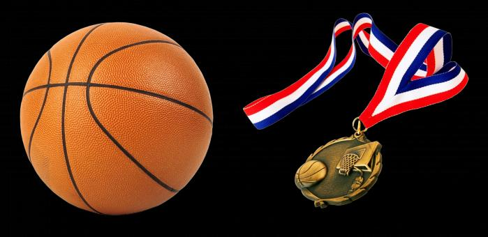 Free Stock Photo of Basketball Medal