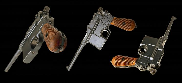 Free Stock Photo of Mauser Pistols