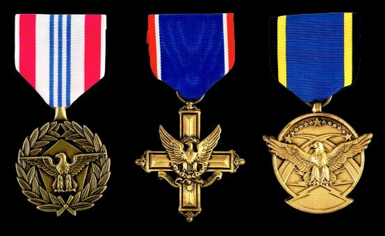 Free Stock Photo of Medals of Honor