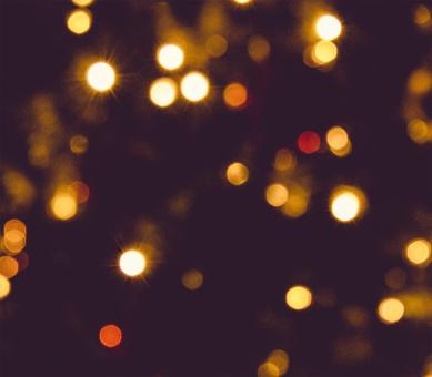 Free Stock Photo of Colorful Bokeh Background with Blurry Lights