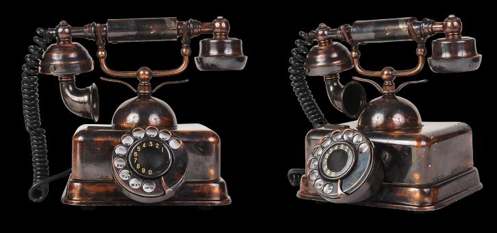 Free Stock Photo of Vintage Telephone