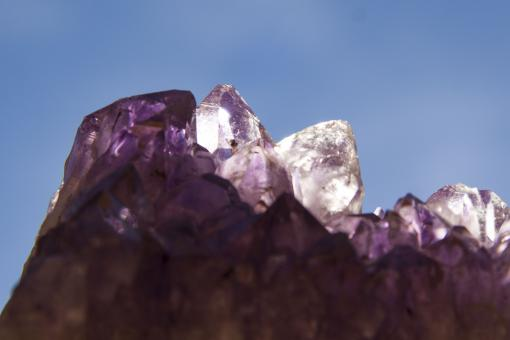 Free Stock Photo of Amethyst
