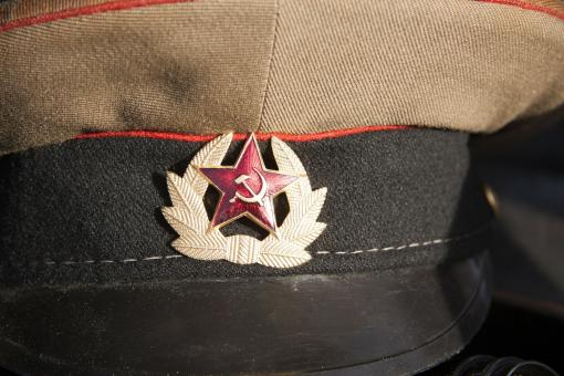 Free Stock Photo of Military Hat Closeup