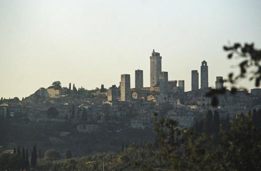 Free Stock Photo of San Gimignano