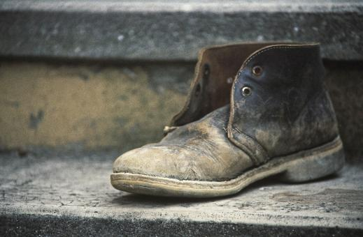Free Stock Photo of Old Shoe