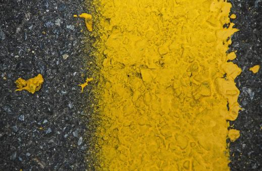 Free Stock Photo of Road Paint