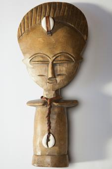 Free Stock Photo of Carved African Art