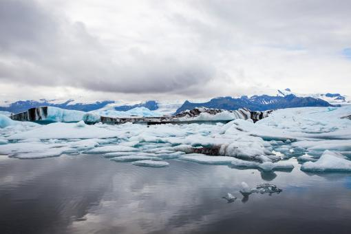 Free Stock Photo of Glacier Lagoon