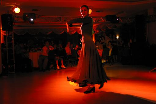 Free Stock Photo of Flamenco Dancer