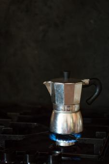 Free Stock Photo of Making Coffee